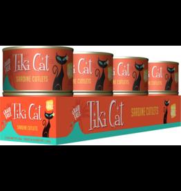 Tiki Cat Tiki Cat Canned Cat Food Tahitian Grill (Sardine Cutlets) 6 oz CASE