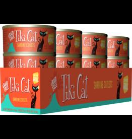 Tiki Cat Tiki Cat Canned Cat Food Tahitian Grill (Sardine Cutlets) 2.8 oz CASE