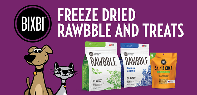 Bixbi Freeze-Dried Rawbble & Treats