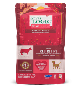 Nature's Logic Nature's Logic Distinction Grain-Free Dog Kibble | Red Recipe 24 lb