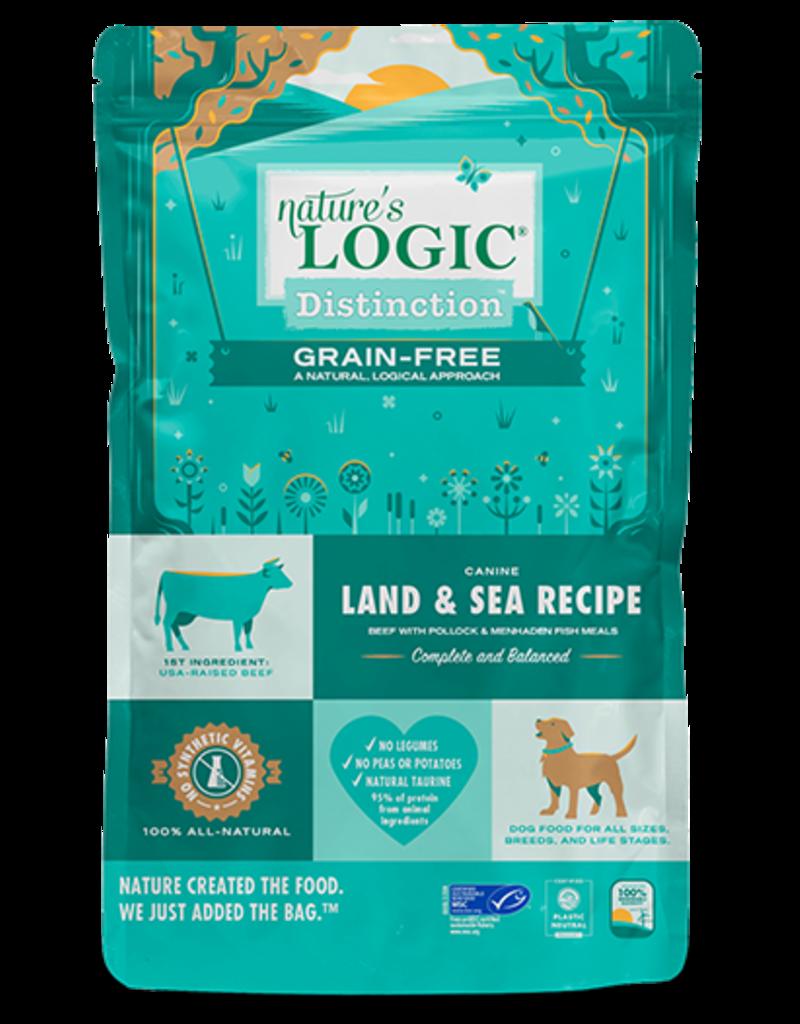 Nature's Logic Nature's Logic Distinction Grain-Free Dog Kibble   Land & Sea Recipe 4.4 lb