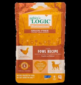 Nature's Logic Nature's Logic Distinction Grain-Free Dog Kibble | Fowl Recipe 24 lb