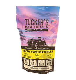 Tuckers Tucker's Raw Frozen Cat Food | Chicken & Pumpkin 24 oz (*Frozen Products for Local Delivery or In-Store Pickup Only. *)