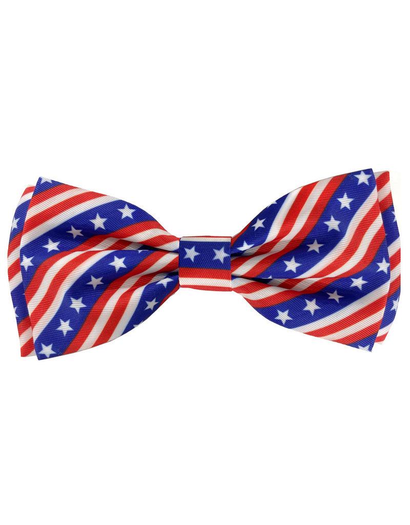 Huxley & Kent Huxley & Kent Bow Tie | Paws & Stripes Extra Large (XL)