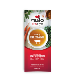 Nulo Nulo Freestyle Bone Broth | Hearty Beef Pouch 2 oz CASE