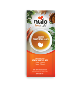 Nulo Nulo Freestyle Bone Broth | Classic Turkey Pouch 2 oz CASE