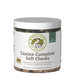 Wholistic Pet Organics Wholistic Pet Organics Canine Complete Soft Chews 60 ct