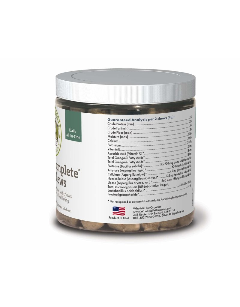 Wholistic Pet Organics Wholistic Pet Organics Canine Complete Soft Chews 120 ct