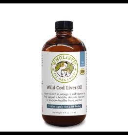 Wholistic Pet Organics Wholistic Pet Organics Cod Liver Oil 8 oz