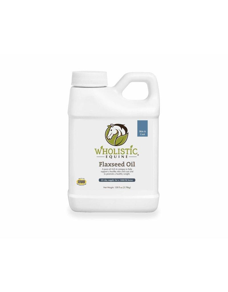 Wholistic Pet Organics Wholistic Pet Organics Flaxseed Oil Equine 64 oz