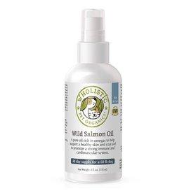 Wholistic Pet Organics Wholistic Pet Organics Feline Wild Deep Sea Salmon Oil Spray 4 oz