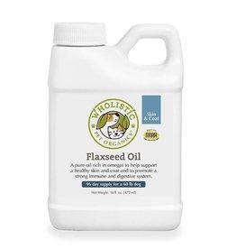 Wholistic Pet Organics Wholistic Pet Organics Flaxseed Oil 16 oz