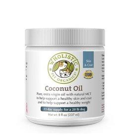 Wholistic Pet Organics Wholistic Pet Organics Coconut Oil 8 oz