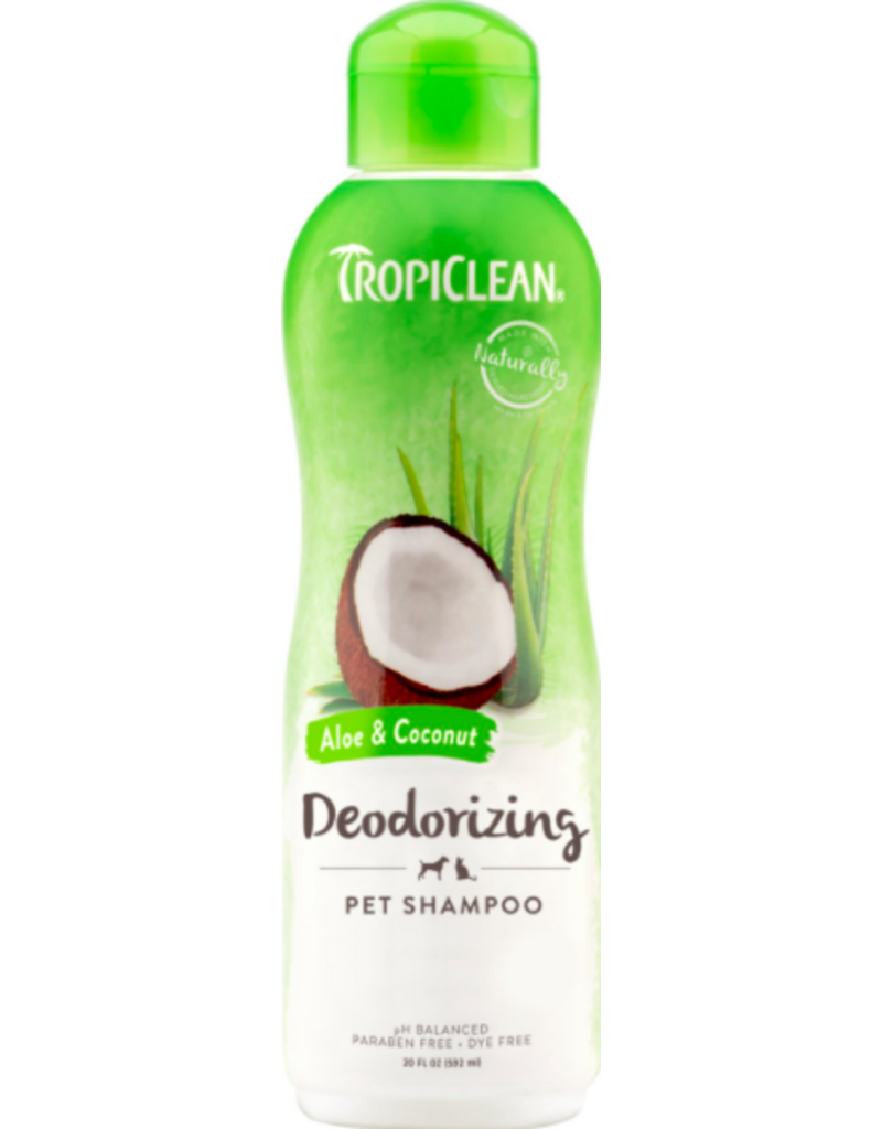 Tropiclean Tropiclean Pet Shampoo Deodorizing Aloe & Coconut 20 oz