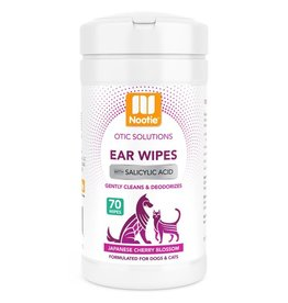 Nootie Nootie Ear Wipes Japanese Cherry Blossom 70 ct