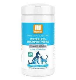 Nootie Nootie Waterless Shampoo Wipes Sweet Pea & Vanilla 70 ct