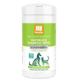Nootie Nootie Waterless Shampoo Wipes Cucumber Melon 70 ct