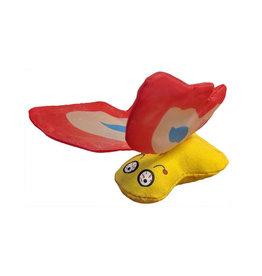 Yeowww! Yeowww! Cat Toys Butterfly Red single