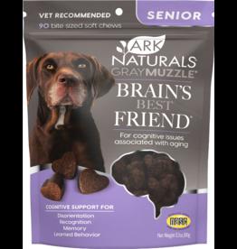 Ark Naturals Ark Naturals Dog Treats | Gray Muzzle Senior Brain's Best Friend 3.17 oz