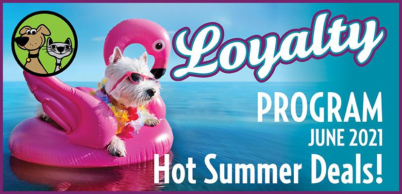 Sunny June In-Store  Pet Food & Treats Specials