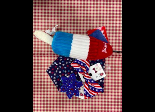 Patriotic Toys, Treats, & Apparel