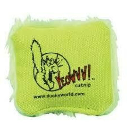 Yeowww! Yeowww! Cat Toys Jug of Pillows Green single
