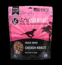 Vital Essentials Vital Essentials Dog Freeze Dried Chicken Nibblets 1 lb
