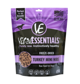 Vital Essentials Vital Essentials Dog Freeze Dried Turkey Mini Nibs 1 lb