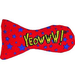 Yeowww! Yeowww! Cat Toys Fish Bowl Stinkies Sardines Stars single