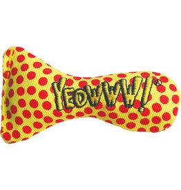Yeowww! Yeowww! Cat Toys Fish Bowl Stinkies Sardines Polka Dots single