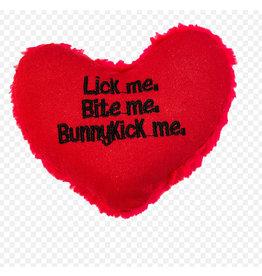 Yeowww! Yeowww! Cat Toys Bunnykick Heart single