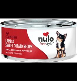 Nulo Nulo Freestyle GF Canned Dog Food CASE Lamb & Sweet Potato Small Breed 6 oz