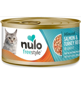 Nulo Nulo FreeStyle Canned Cat Food | Minced Salmon & Turkey 3 oz CASE