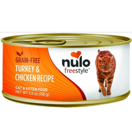 Nulo Nulo FreeStyle Canned Cat Food | Turkey & Chicken 5.5 oz CASE