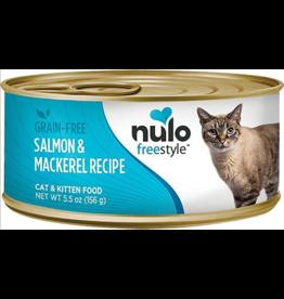 Nulo Nulo FreeStyle Canned Cat Food | Salmon & Mackerel 5.5 oz CASE