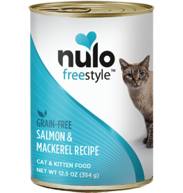 Nulo Nulo FreeStyle Canned Cat Food | Salmon & Mackerel 12.5 oz CASE