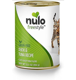 Nulo Nulo FreeStyle Canned Cat Food | Duck & Tuna 12.5 oz CASE