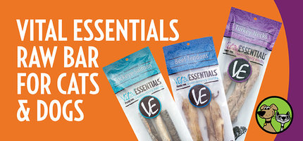 Vital Essentials Raw Bar  For Cats & Dogs