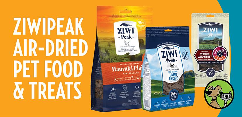 ZiwiPeak Air-Dried Pet Food & Treats