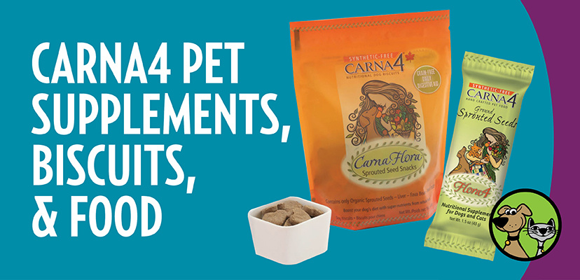 Carna4 Pet Supplements, Biscuits, & Food