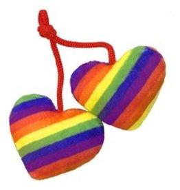 Huxley & Kent Huxley & Kent Kittybelles Catnip Toy | Pride Hearts