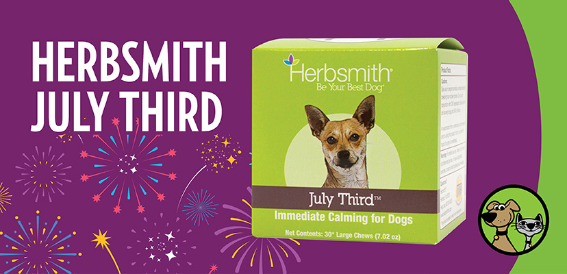 Herbsmith July 3rd  Anti-Anxiety Supplements For Dogs