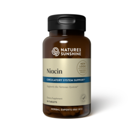 Nature's Sunshine Nature's Sunshine Supplements Niacin 250 mg 90 tablets