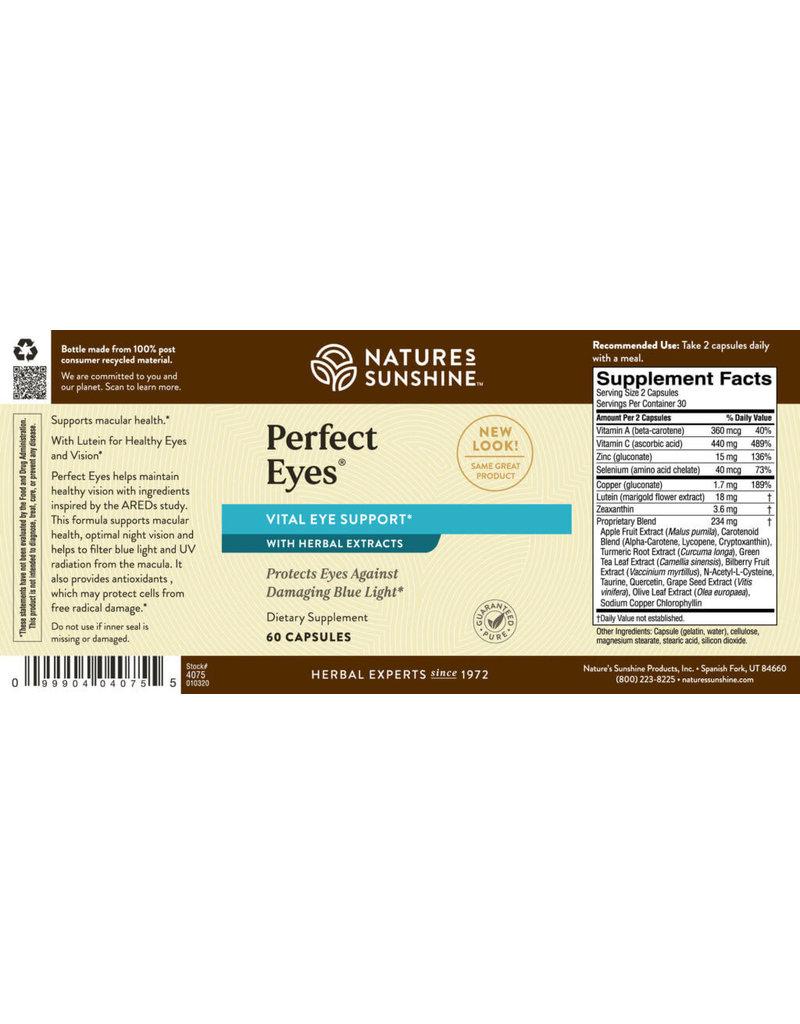 Nature's Sunshine Nature's Sunshine Supplements Perfect Eyes 60 capsules