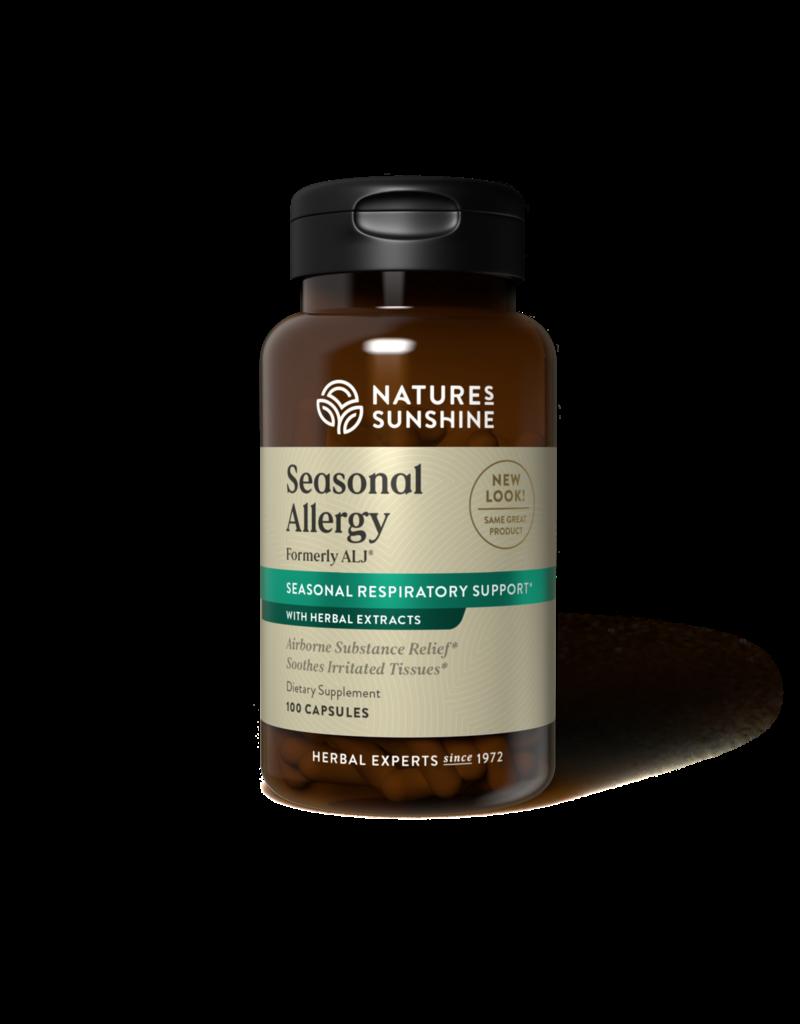 Nature's Sunshine Nature's Sunshine Supplements Seasonal Allergy ALJ 100 capsules