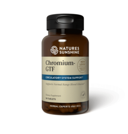 Nature's Sunshine Nature's Sunshine Supplements Chromium 90 tablets