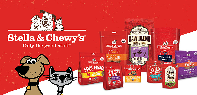 Stella & Chewy's Healthy Dog & Cat Food Options
