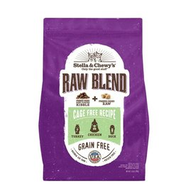 Stella & Chewy's Stella & Chewy's Raw Blend Cat Kibble | Cage Free Recipe 10 lb