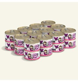 Weruva Best Feline Friend Canned Cat Food Tuna & Tilapia Twosome 3 oz CASE