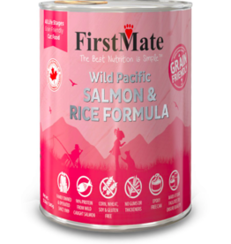 Firstmate FirstMate Canned Cat Food Grain Friendly Wild Salmon & Rice 12.2 oz CASE